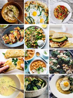 12 Easy Dinners These are all fresh and delicious!
