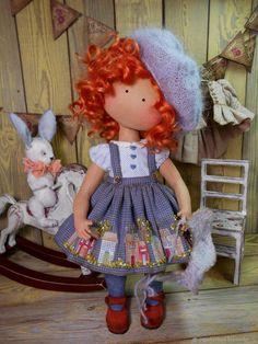 Коллекционные куклы ручной работы. Оленька. 'Авторские игрушки Чертовой Ольги'. Ярмарка Мастеров. Кукла в подарок, кукла с одеждой