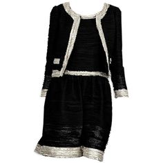 metalheavy's polyvore uploads ❤ liked on Polyvore featuring dresses, outfits, suits, dresses/skirts, haljine, oscar de la renta and oscar de la renta dresses