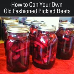The Home Front: How to Make and Can Old Fashioned Pickled Beets!