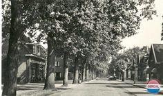 Wilhelminastraat Emmen (jaartal: 1945 tot 1950) - Foto's SERC