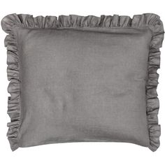 H&M Linen pillowcase ($20) ❤ liked on Polyvore