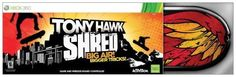 Tony Hawk: Shred Bundle -Xbox 360 (047875839267) Just step on the board and SHRED. No complicated button controls to master. Just step on to SHRED through awesome modes including Trick, Point Rush, and Challenge! Go big! Clear huge gaps, perform over-the-top tricks during massive drops, and ride out roller coaster grinds! All new snowboarding: Feel the rush as you speed down mountain peaks filled with breathtaking big airs, crazy spins, and incredible flips! Updated Tony Hawk Board ...