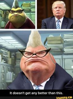 donald trump monster inc - Google Search