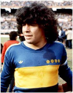 Diego Maradona, Boca Juniors circa 1981.