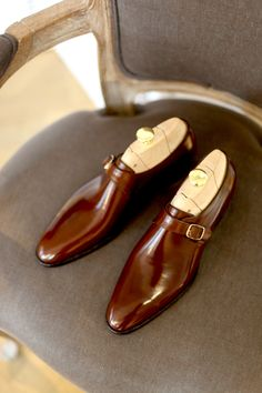 Monk Strap #shoes #footwear #monkshoe