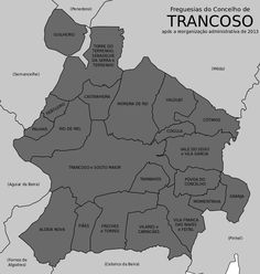 Freguesias do concelho de Trancoso