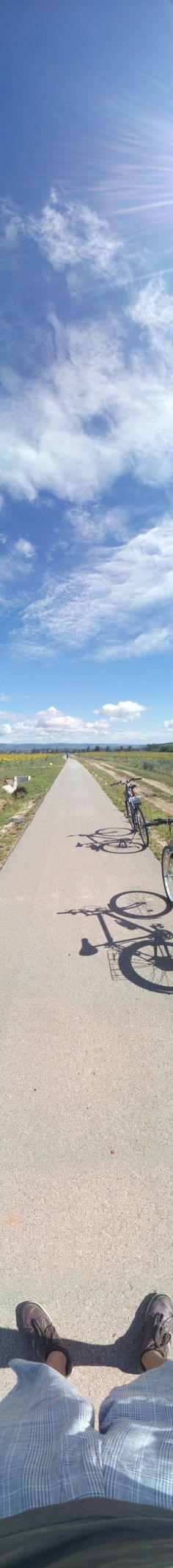 Cycling - Panorama Pic