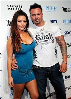 """""""Jersey Shore"""" star JWoww is engaged. (Ethan Miller / Getty Images file)"""