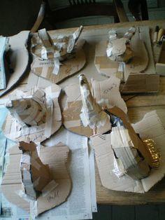 paper mache prep