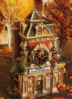 Department 56 Village Carnival - Grimsly's House of Oddities
