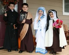 Time to start sewing! ..All Saints Day Costume Ideas from Shower of Roses!