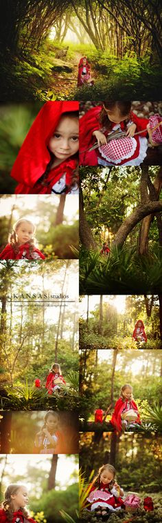 on the way to grandmother's house | a little red riding hood story | kansas studios | kansas pitts photography #littleredridinghood #styledsession