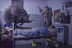Bedroom Monsters Series6