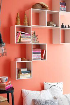 Nichos são sempre uma ótima escolha para decoração de quartos!