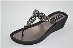 7de91e806b1 Grandco Splash Wedge Thong Sandals  hiddentreasuresdecorandmore