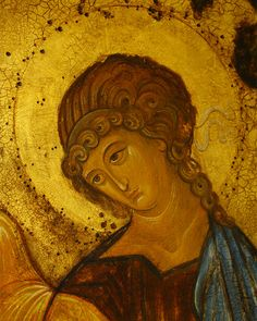 Order Of Angels, Byzantine Art, Orthodox Icons, Tempera, Christian, Painting, Pastor, Historia, Painting Art