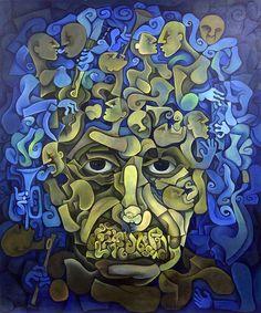 """""""Green Room"""", an interpretation of Einstein"""