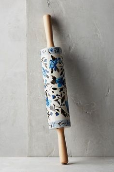 Floral Rolling Pin #baking