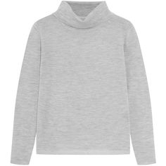 Jil Sander Ribbed cashmere and silk-blend turtleneck sweater (€295 ...