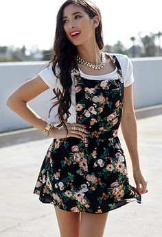 Floral Print Overall Dress | FOREVER21  http://www.forever21.com/Product/Product.aspx?BR=f21=dress=2002246431=