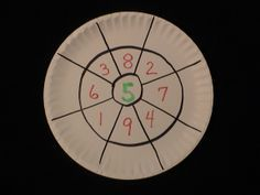 """Addition and subtraction fact platters. Just changing up the format and putting it on a plastic plate so it's erasable changes drill-and-kill into, """"Hey, that's fun! """"."""