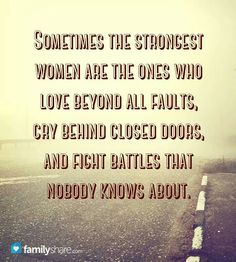 Women are strong!