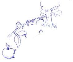 De appel valt niet ver van de boom Betekenis : kinderen lijken vaak op de ouders (bijz. inzake karakter) E: The apple never falls far from the tree / The apple does not fall far from the tree F: La pomme ne tombe jamais bien loin du pommier D: Der Apfel fällt nicht weit vom Stamm I : La mela non cade (mai) lontano dall'albero.