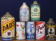 Art's Beer Cans - Buying Beer Can Collections Beer 101, All Beer, Root Beer, Beer Can Collection, Beer History, Old Beer Cans, Beer Mats, Beers Of The World, Cream Soda