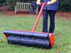36 inch Hand push sorrel roller. Towable field rollers to maintain your horse paddock, can also be use for garden lawns. Field rollers ensure healthy grass growth for good paddock maintenance. For more info: http://www.fresh-group.com/field-rollers.html