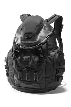 Oakley kitchen sink backpack in stealth black:  every conceivable feature in one bag.