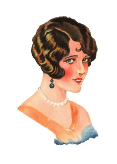 **FREE ViNTaGE DiGiTaL STaMPS**: FREE Vintage Image - 1920's Lady #vintage #fashion