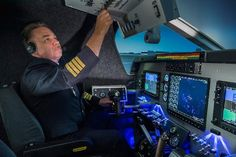 Photo of SoftekSim Flight Simulator Experience