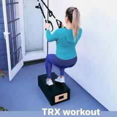 Box Jump Workout, Trx Ab Workout, Trx Full Body Workout, Trx Abs, Trx Training, Strength Training Workouts, Insanity Workout Videos, Trx Yoga, Suspension Training