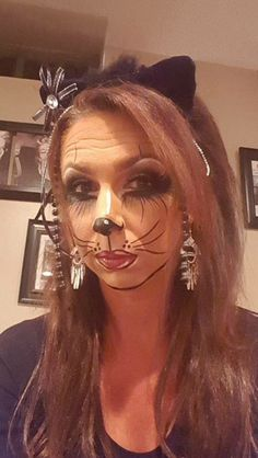 My friends awesome cat make up