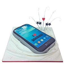 The Cake Store - Samsung Phone Cake, £135.00 (http://www.thecakestore.co.uk/samsung-phone-cake/)