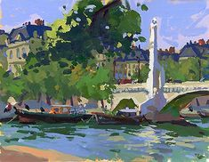 Charles Sovek, Artist and Author | Exhibition Gallery Archive: Paris Revisited