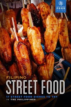 Discovering Filipino Street Food: 17 Street Food Dishes to Try in the Philippines - List of the best food recipe Filipino Street Food, Asian Street Food, Best Street Food, Phillipines Food, Food Styling, Asian Recipes, Filipino Recipes, Filipino Dishes, Food Hacks