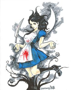 SDCC Sketches - Alice by ~daxiong