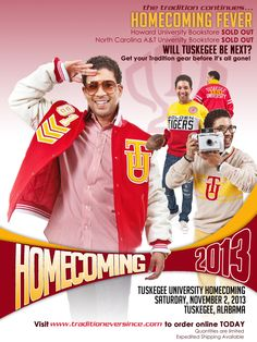 Tuskegee University, sweaters, jackets, Homecoming 2013