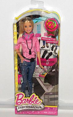 Barbie Film Director Doll 2015 Career of The Year Fashion Collector Toy CCP42