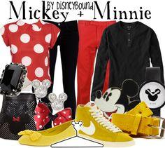 Mickey & Minnie Mouse Disney Bound (Male & Female)