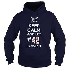 Keep calm and let my baseball 42 handle it, Order HERE ==> https://www.sunfrog.com/Names/Keep-calm-and-let-my-baseball-42-handle-it-Hoodie-Navy-Blue.html?6789, Please tag & share with your friends who would love it , #birthdaygifts #christmasgifts #superbowl   #architecture #art #cars #motorcycles #celebrities #DIY #crafts #design #education