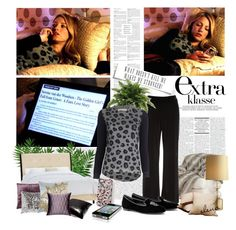 """""""Serena van der Woodsen - The Golden Girl's Fall from Grace"""" by pilar-elena ❤ liked on Polyvore featuring OKA, Nipon Boutique, Rebecca Taylor, Alexander McQueen, Frette, Kylie Minogue, Blissliving Home, Fanny Aronsen, DwellStudio and Twill Textiles"""