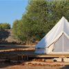 The camp is situated within an olive grove on the south coast of Gallipoli, is designed to ensure guests peace and comfort in the natural environment of south Italy typically Mediterranean. Bell Tent, Tents, Outdoor Gear, Camping, Italy, Design, Teepees, Campsite, Italia