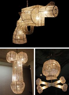 To all my Pinterest friends, it's a novelty but these WON'T be hanging in my house....heh! LOL