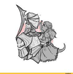 Dark Souls,фэндомы,Dark Souls 3,DS art,Gwyndolin,DS персонажи,Darkmoon Knightess,Company Captain Yorshka,DSIII персонажи