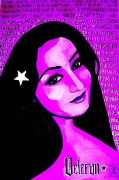 """Veterana"" by Michelle Wilmot  http://michelle-wilmot.artistwebsites.com/featured/veterana-michelle-wilmot.html"