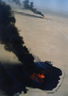 Kuwait oil fires, 1991