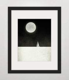 Black White Print, via Etsy (artwork for walls)